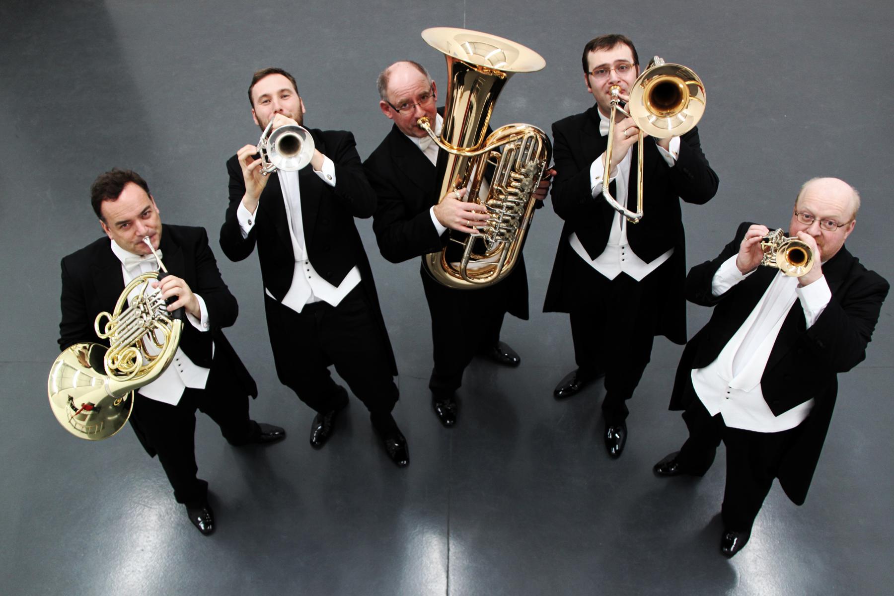 Amazing brass quintet returns — 18 May 2014