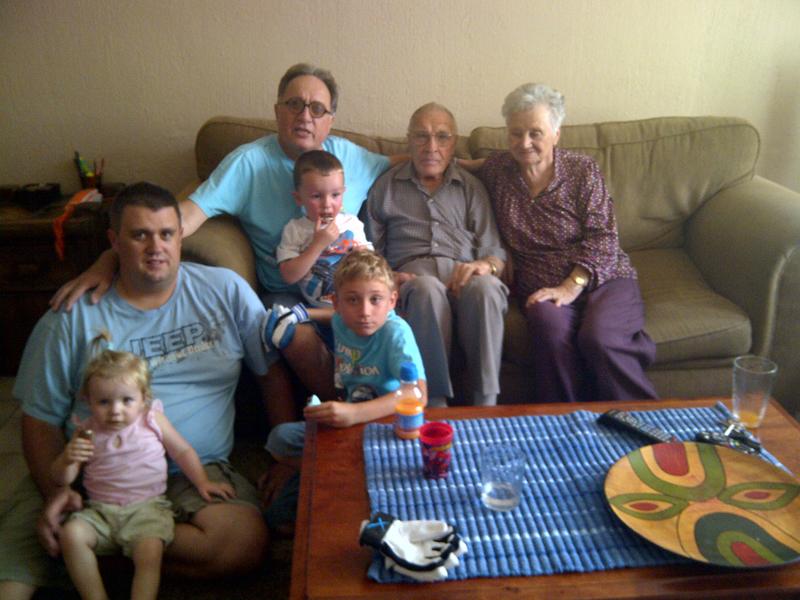 George Fazakas family
