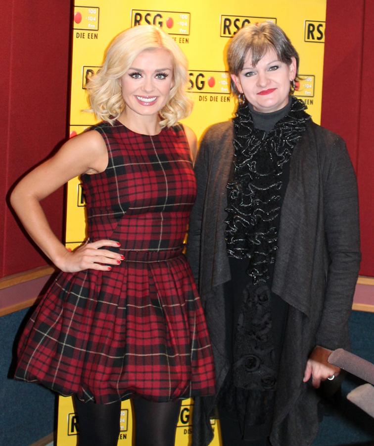Tharien with Katherine Jenkins