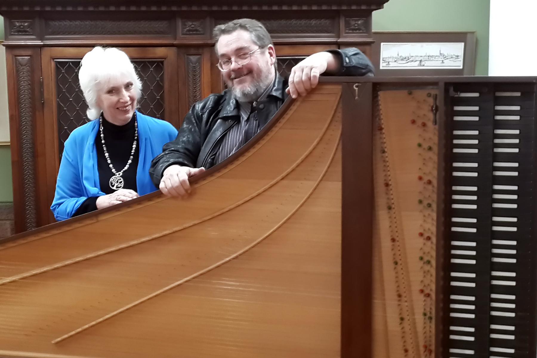 Lots of strings in two harpsichords — 24 August 2014