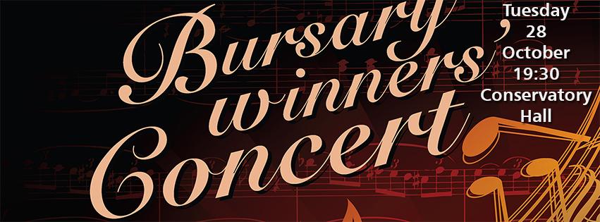 Bursary Winners' Concert — 28 October 2014