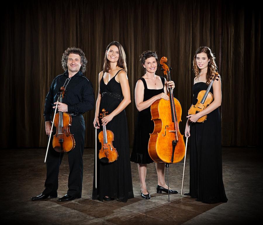 Evolution of 4 String Quartet