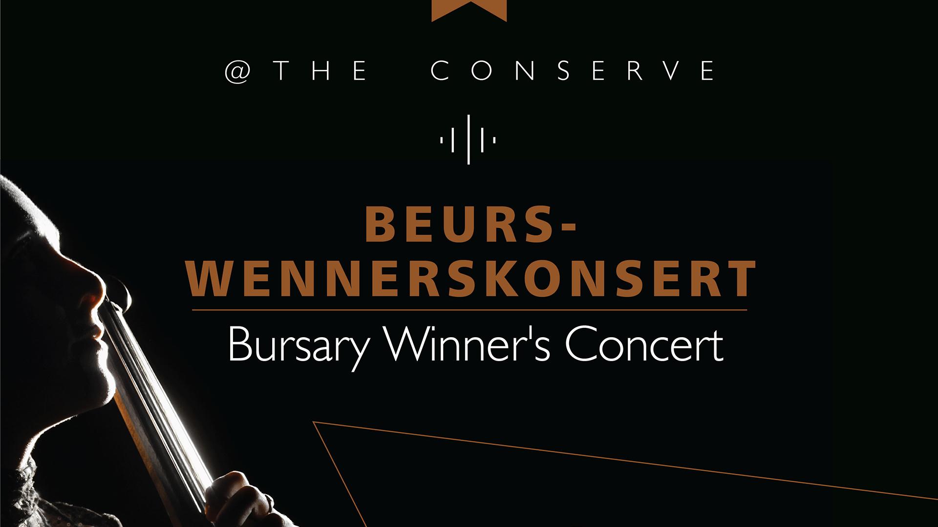 Bursary Winners' Concert — 20 October 2015