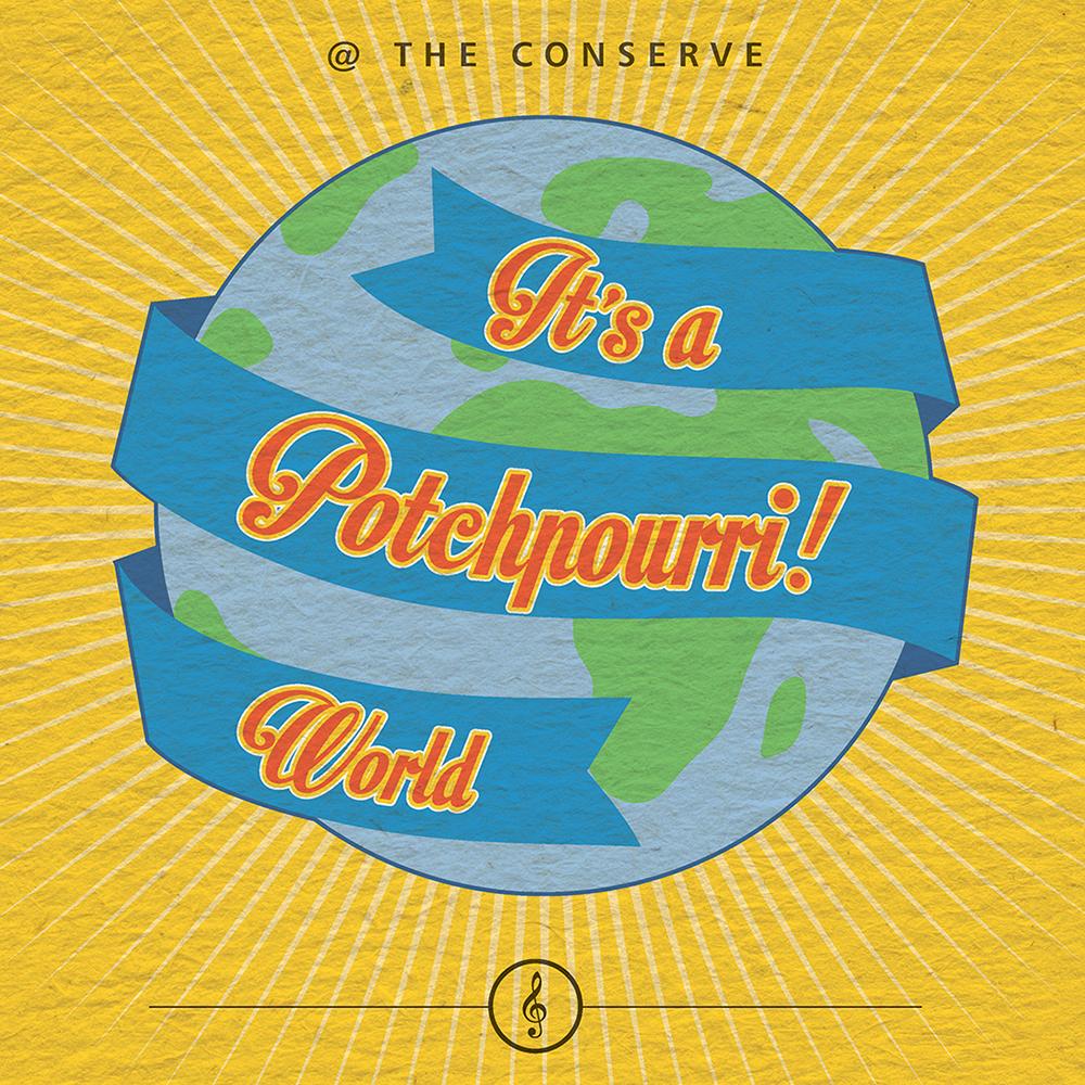 It's a Potchpourri! World — 8 March 2016