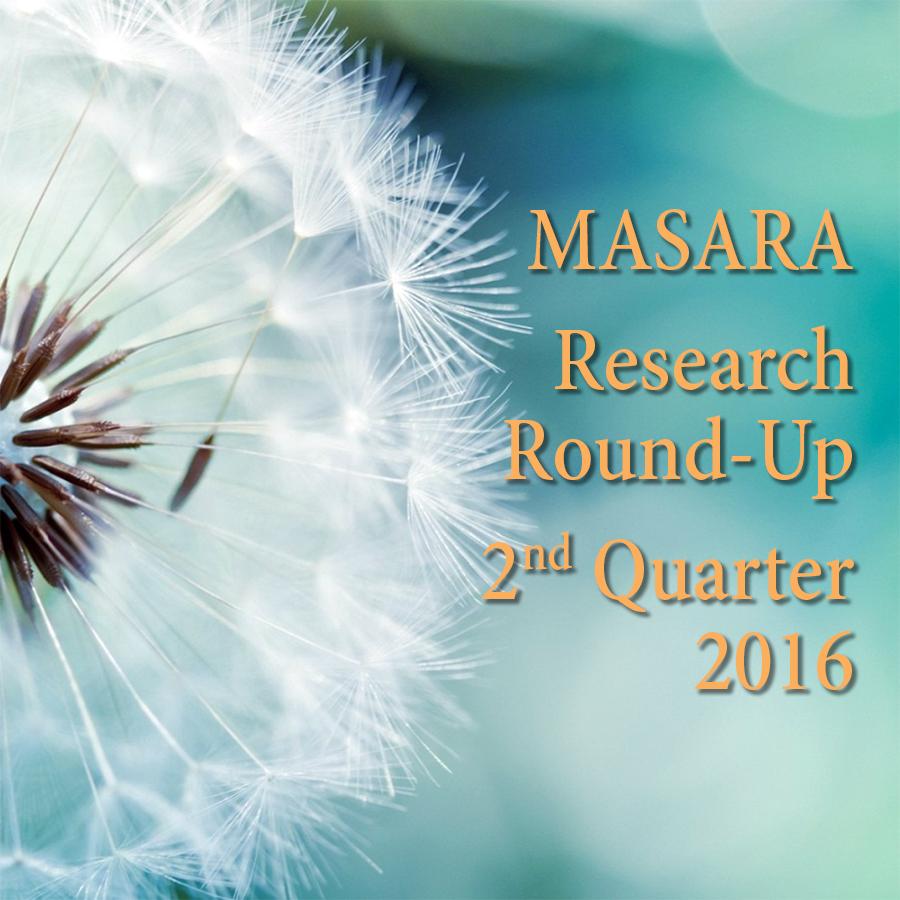 MASARA Research Round-Up — 2nd Quarter 2016