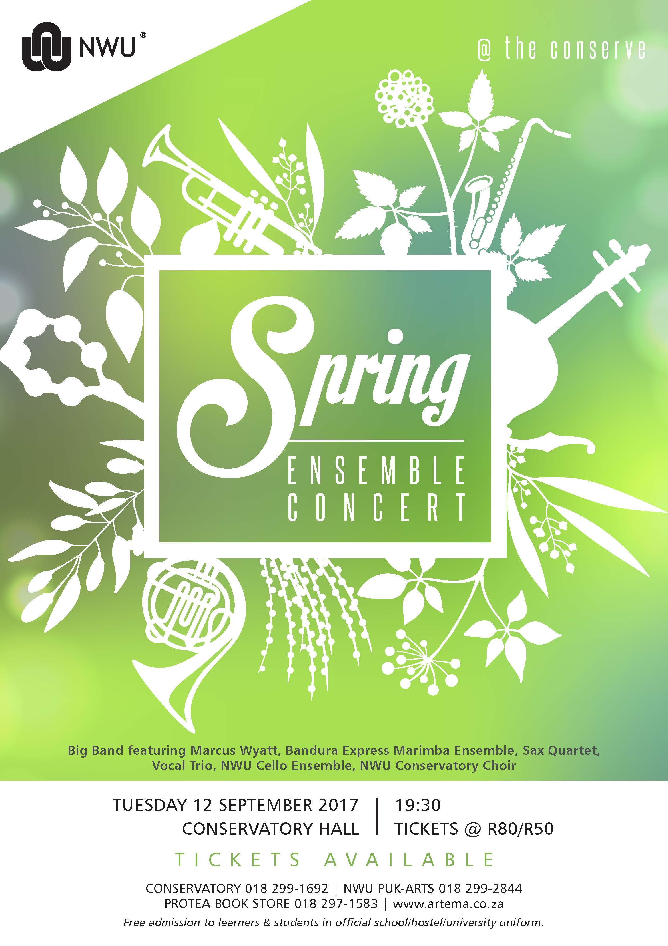 Spring Ensemble Concert