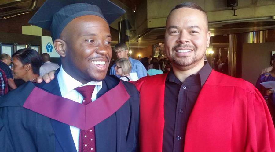 Tshilidzi Ndou & Dr Conroy Cupido
