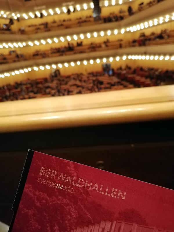 Berwaldhallen, Stockholm